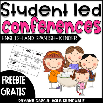 STUDENT-LED CONFERENCES KINDER {FREE}