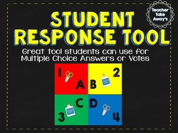 STUDENT Multiple Choice Response Cards