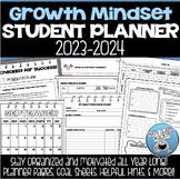 GROWTH MINDSET STUDENT PLANNER 2019-2020