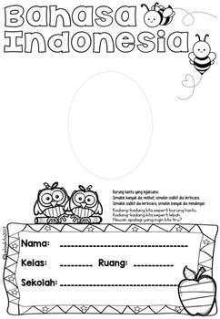 STUDENT'S BOOK COVER - Bahasa Indonesia