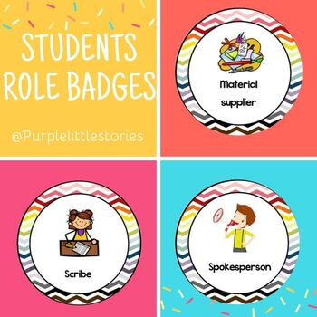 STUDENTS ROLE BADGES