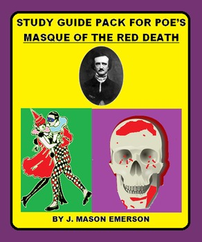 STUDY GUIDE PACK FOR POE'S  MASQUE OF THE RED DEATH