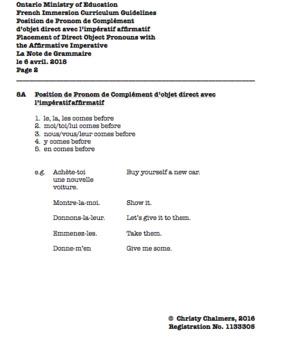 STUDY NOTES - DOCX - F.I. - Gr. 8 - Ont. Min. of Ed. - April 6, 2018