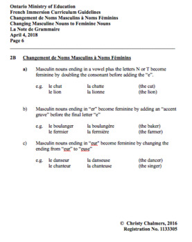 STUDY NOTES - PDF - F.I. - Gr. 2 - Ont. Min. of Ed. - April 5, 2018