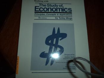 STUDY OF ECONOMICS  ISBN 1-56134-383-8