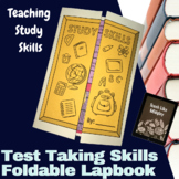 STUDY SKILLS: Test Taking Strategies Lapbook Foldable