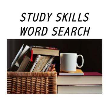 STUDY SKILLS VOCABULARY Word Search