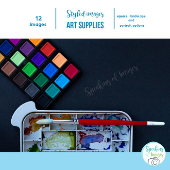 STYLIZED IMAGES: Stock photos of Art Supplies