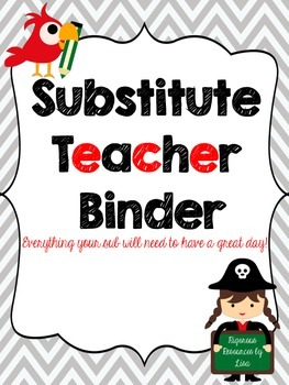 SUB BINDER - PIRATE THEME