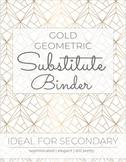 SUB BINDER Template | Editable Sub Binder! | Secondary Sub Binder
