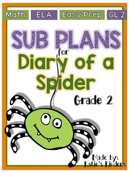 SUB PLANS - Diary of a Spider