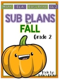SUB PLANS for FALL