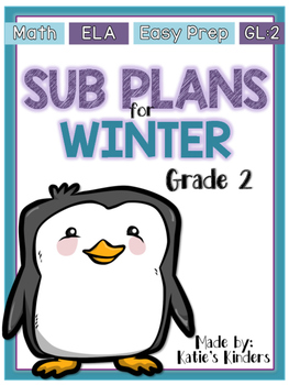 SUB PLANS for WINTER