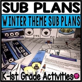 Kindergarten Sub Plans POLAR BEARS