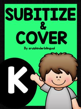 SUBITIZE & COVER ~Kindergarten~