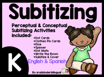 SUBITIZING in KINDERGARTEN ~Perceptual and Conceptual~