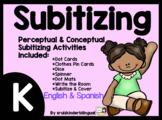 SUBITIZING in KINDERGARTEN ~Perceptual and Conceptual~