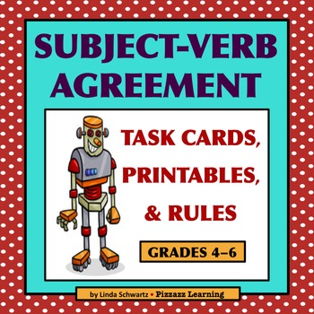 Subject Verb Agreement Review Grade 5 By Pizzazz Learning Tpt