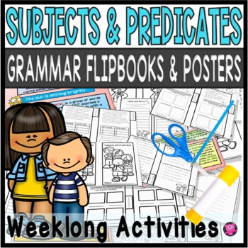 Subjects and Predicates Practice and Worksheets