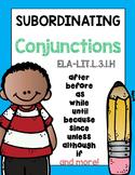 Subordinating Conjunctions Complex Sentences