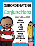 Subordinating Conjunctions Complex Sentences