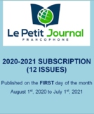 SUBSCRIPTION: Monthly news summaries for French students;