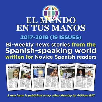 SUBSCRIPTION: Bi-weekly news summaries for Spanish students 2017-2018