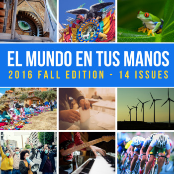 SUBSCRIPTION: Weekly news summaries for Spanish students; FALL 2016