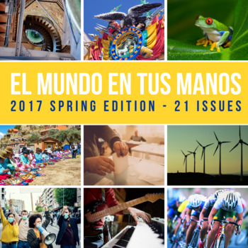 SUBSCRIPTION: Weekly news summaries for Spanish students; SPRING 2017