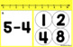 SUBTRACT & COVER Using Counters and Number Line