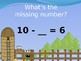 SUBTRACTION FACTS TO 10 ANIMATED POWERPOINT SLIDE SHOW