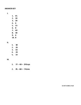 COMMON CORE FOR 2ND -3RD GRADES ON SUBTRACTING 2-DIGITS WITH REGROUPING