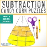 SUBTRACTION Candy Corn Activities | Great for Thanksgiving