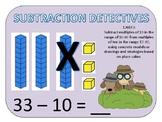 SUBTRACTION DETECTIVES  - 1.nbt.6