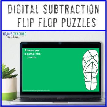 SUBTRACTION Back to School Activities: Flip Flop Centers {Back to School Math}