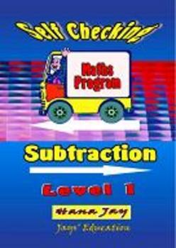 SUBTRACTION Level 1 Self Checking Maths Program