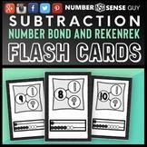 SUBTRACTION REKENREK AND NUMBER BOND CARDS