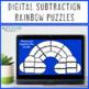 SUBTRACTION Rainbow Activities | Rainbow Math Centers | Spring Activities