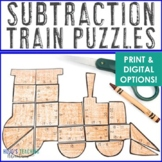 SUBTRACTION Train Activity | Polar Express Math Games, Centers, or Stations