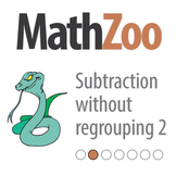 SUBTRACTION WITHOUT REGROUPING 2: 2 Digit Subtraction