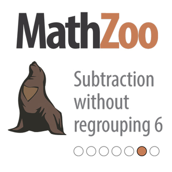 SUBTRACTION WITHOUT REGROUPING 6: Subtracting twice to get the answer