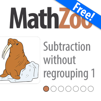 SUBTRACTION WITHOUT REGROUPING I: Single Digit Subtraction