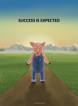 SUCCESS IS EXPECTED POSTER