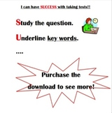 SUCCESS Test taking strategy