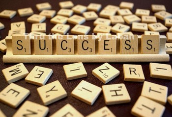 SUCCESS Wooden Letters Stock Photo #205