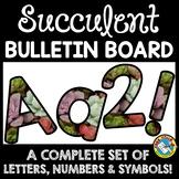 SUCCULENT CLASSROOM DECOR CACTUS BULLETIN BOARD LETTERS PR