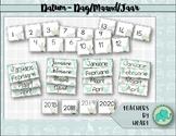SUCCULENT THEME decor DATES/VETPLANT TEMA dekor DATUMS