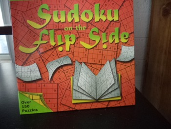 SUDOKU ON THE FLIP SIDE  ISBN 10 1 4027 3711 4
