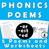 Suffix Poems er est ed