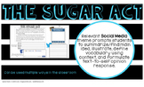 SUGAR ACT American Revolution Colonial America